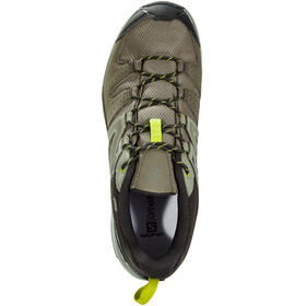 Salomon M's X Radiant GTX Shoes Beluga/Castor Gray/Citronelle